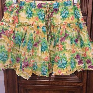 Dresses & Skirts - Aeropostale Size Medium Ruffle Skirt
